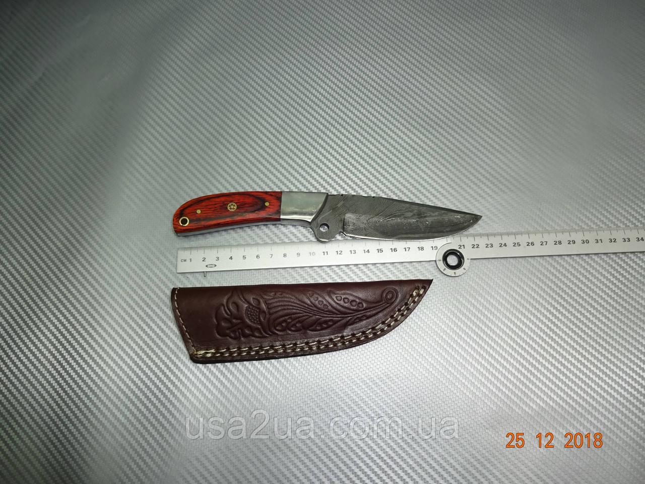 Нож ручная работа дамасская сталь ОХОТА РЫБАЛКА распродажа