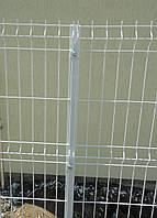 Столбы для панельного забора из сетки 2500, 40*40*1,5