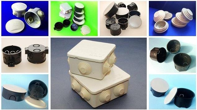 Монтажные коробки и подразетники
