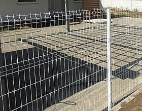 Стовпи для панельного паркану з сітки 1250, 60*40*1,5
