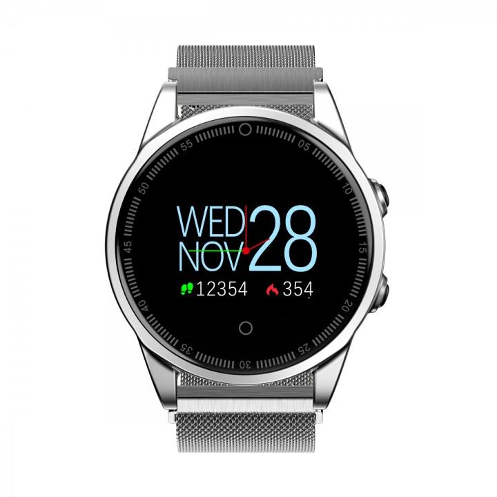 Новинка Смарт Часы R13 с OLED экраном, замером давления и всеми функциями фитнес трекера