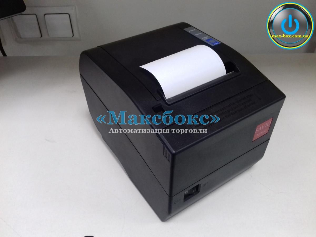 Принтер чековый настольный Savio TP 800 USB + Ethernet