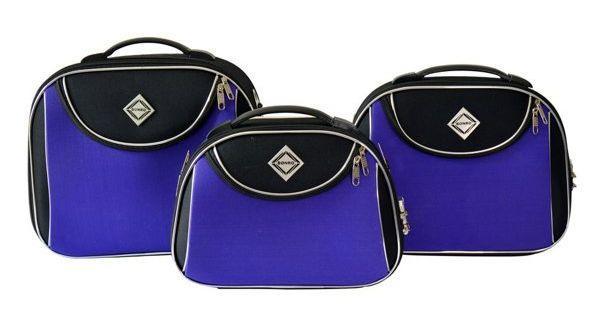 Дорожная сумка-саквояж Bonro Style, набор 3 штуки