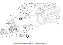 Амортизатор задней опоры двиг. КЗС-1218, фото 6