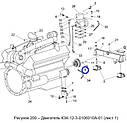 Шкив 3-х руч. двигателя КЗС-1218, фото 4