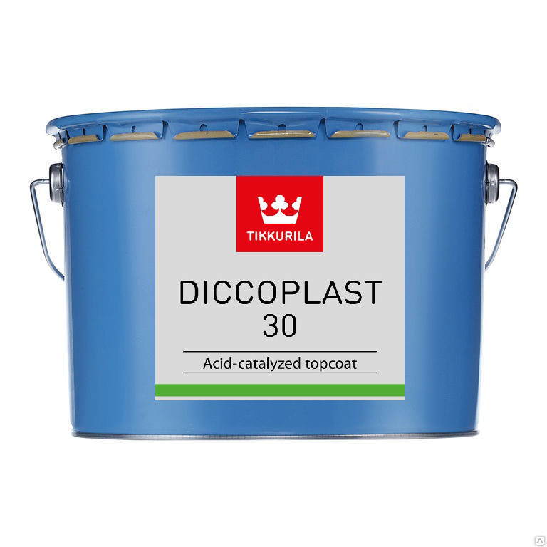 Двохкомпонентна фарба для меблів Tikkurila Дікопласт Diccoplast 30 (А) 2.7л