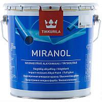 Тиксотропна емаль Tikkurila Міранол Miranol 2.7л (А)