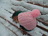 Зимняя шапка для маленькой собаки,шапка для таксы,шапка для собаки до 10 кг, фото 5