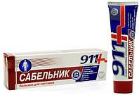 911 Гель-бальзам для тела Твинс Тэк Сабельник  100 мл (4607010244095)