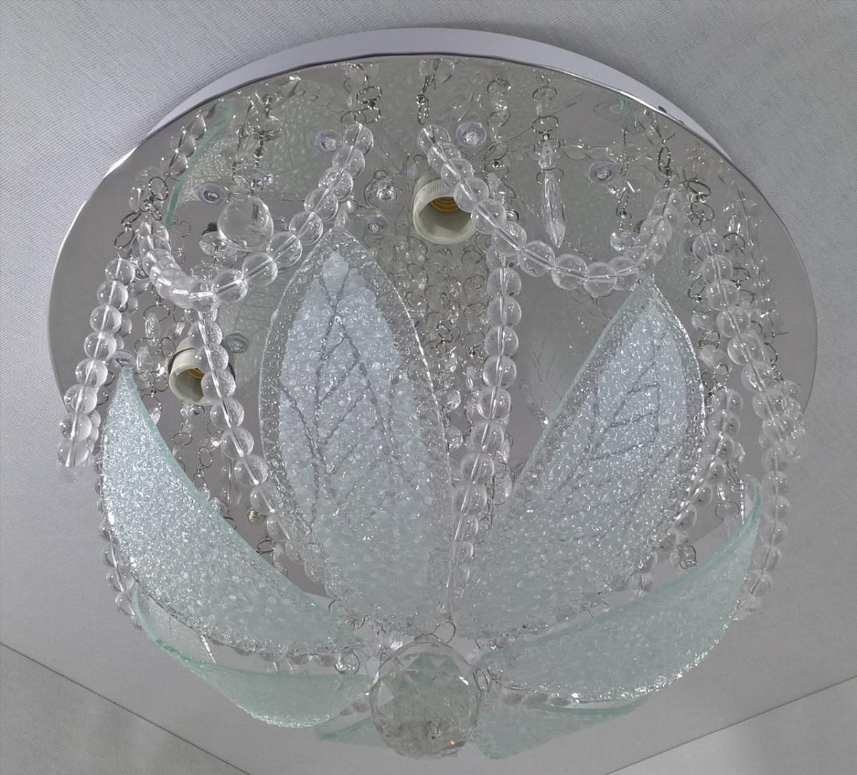 Люстра потолочная с цветной Led подсветкой и автоматическим отключением YR-6115/350