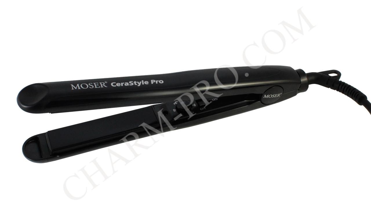 Утюжок MOSER CeraStyle Pro Black (4417-0050)