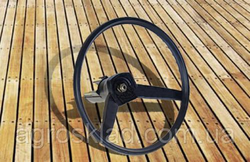 Колесо рулевое МТЗ в сборе с валом 3-х спицевое, фото 2