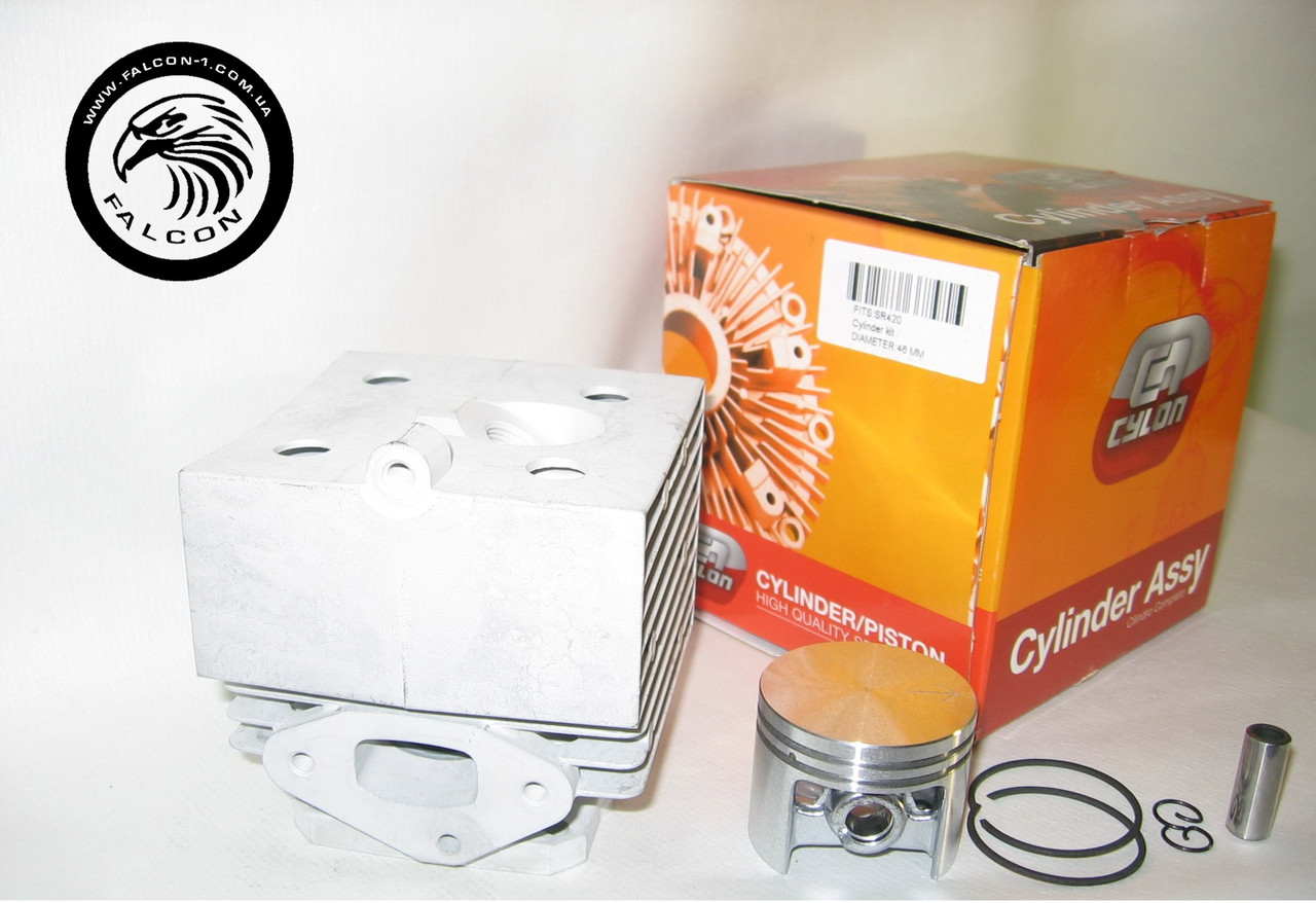 Цилиндр с поршнем Stihl SR 340, SR 420 (42030201200, 42030201201, 42030302001) для опрыскивателя, серия PROFI