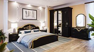 Спальня Лаура в чёрном цвете
