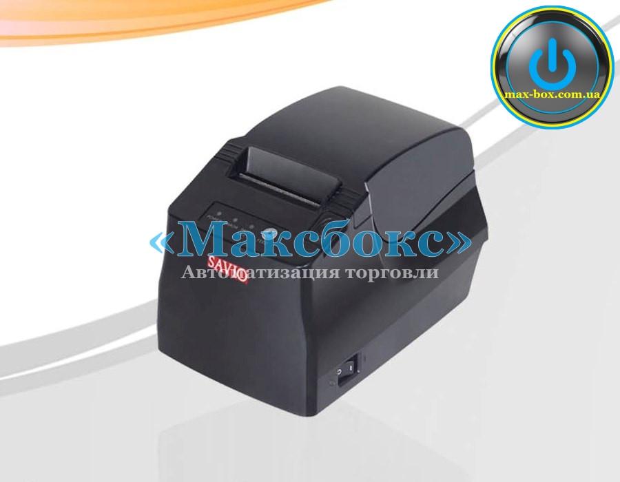 Принтер чековый настольный Savio TP580 USB + RS