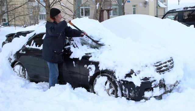 Автомобильная складывающаяся лопата с телескопической ручкой для уборки снега