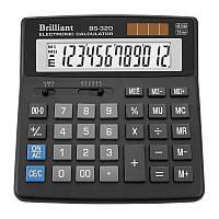 Калькулятор Brilliant 12 разрядов 2-питан. BS-320