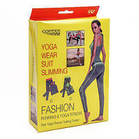 57a2f8c05afa Yoga sets костюм для Йоги, Фитнеса, Бега, Спорта, Спорт костюм, лосины