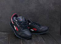 Зимние мужские кроссовки Reebok Реплика Кожа прессованая , фото 1