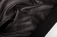 Дубленочный мех Ричолино с покрытием т/т черный
