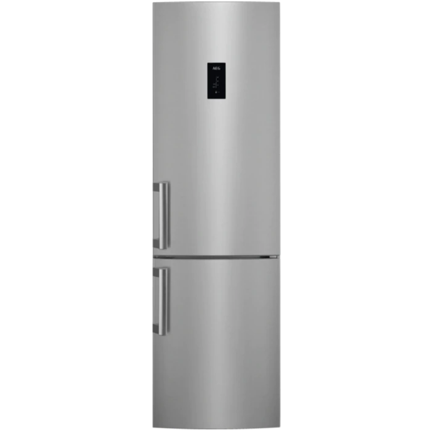 Отдельно стоящий холодильник  с морозильником AEG RCB63726OX