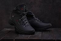 Ботинки Yavgor 601 (Columbia) (зима, мужские, кожа, черный), фото 1