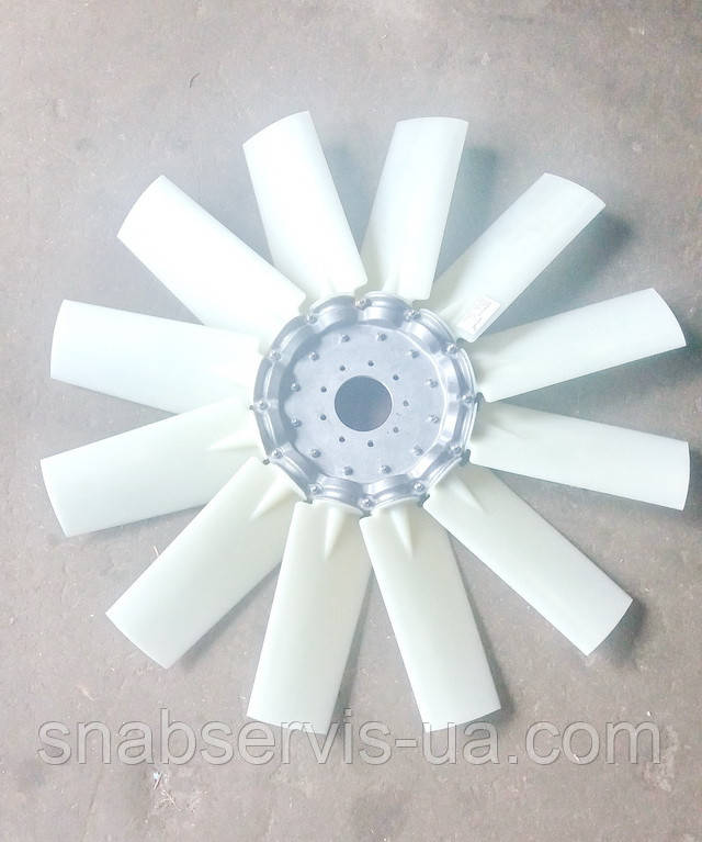 Крыльчатка вентилятора 12-ти лоп. КЗС-1218