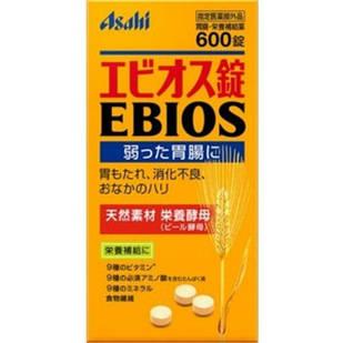 Японские Asahi Ebios пивные дрожжи с дополнениями 600 табл