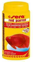 Sera red parrot - корм д/риб Червоний папуга  250 мл.