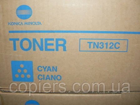 Тонер картридж TN312 C Konica Minolta Bizhub С300/C352 оригинал