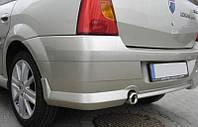 Накладка на задний бампер для Dacia Logan (Дачия Логан)