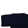 Футболка однотонная – Темно-синяя, фото 3