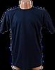 Футболка однотонная – Темно-синяя, фото 6