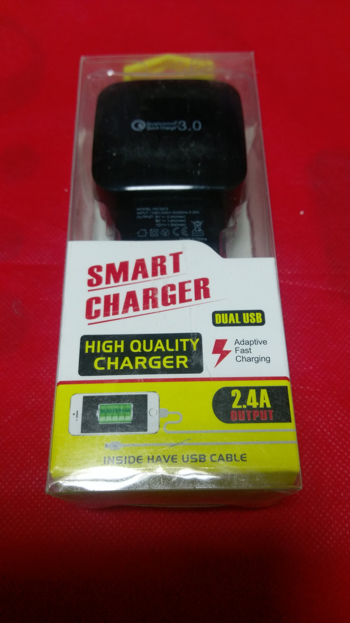 Зарядное устройство HX-QC3 Quick Charge 3.0