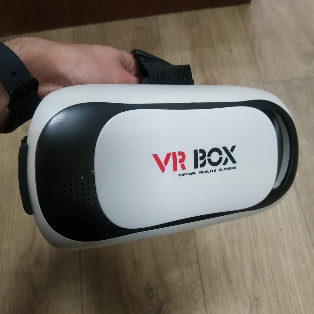 Шлем 3D очки виртуальной реальности с пультом VR BOX 2.0 V2 вр 3Д, фото 1
