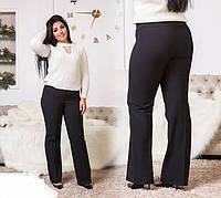 Штаны женские тёплые классика по 60 размер, фото 1