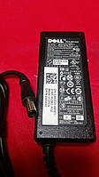 Блок питания для ноутбука DELL 19.5V, 3.34A, 65W, 7.4*5.0-PIN, 3 hole, black (без кабеля!)