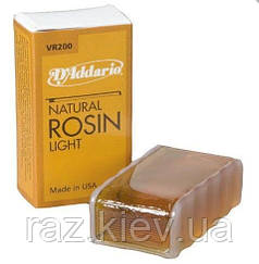 Канифоль D`ADDARIO VR200 Natural Rosin Light