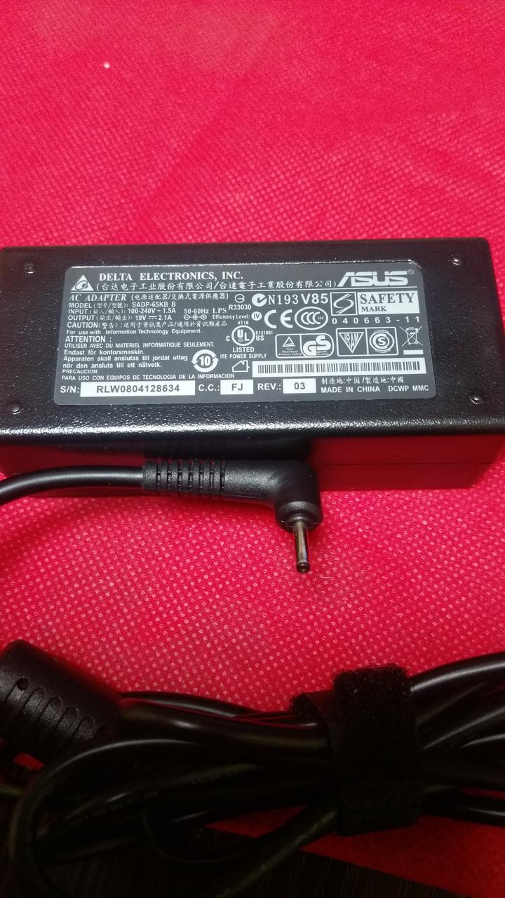 Блок питания для нетбука ASUS 19V, 2.1A, 40W, 2.3*0.7мм, black (без кабеля!)