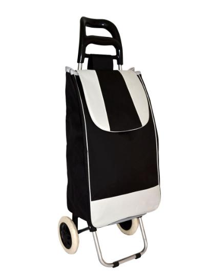 Тачка сумка с колесиками кравчучка металл 94см MH-2079, Черная