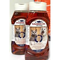 Salmon Oil (лососевое масло) для котов и собак 500 мл
