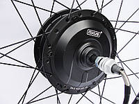 Мотор-колесо MXUS XF15R 36V-48V 350W-500W заднее редукторное