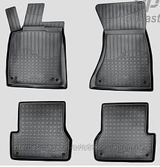 Коврики автомобильные для Audi A6 2014- г.,полиуретан Норпласт