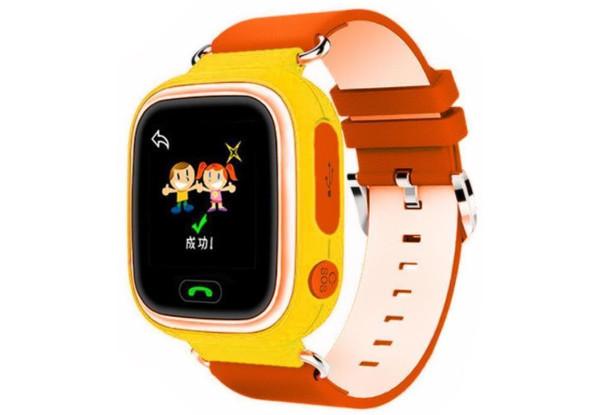 Смарт-часы UWatch Q90 Kids Orange