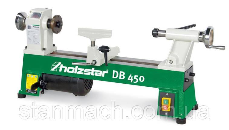 Токарный станок по дереву Holzstar DB 450, фото 2