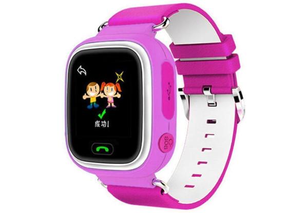 Смарт-часы UWatch Q90 Kids Pink