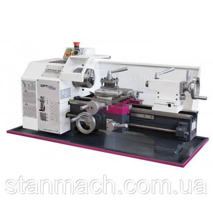 OPTIturn TU 2304 230v без вариатора   Настольный токарный станок по металлу, фото 2