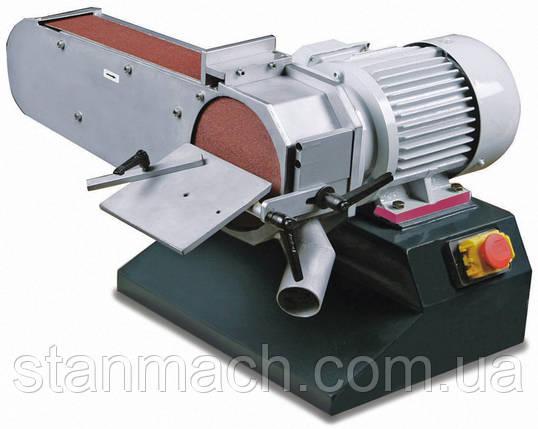 Ленточно-шлифовальный станок по металлу Opti DBS75, фото 2