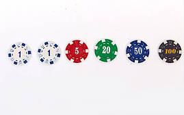 Набор для покера в алюминиевом кейсе на 300 фишек IG-2114 , фото 3
