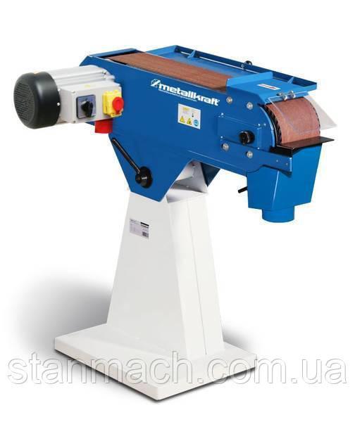Ленточно-шлифовальный станок по металлу Metallkraft MBSM 150-200-2
